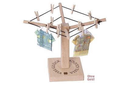Geschenktipp Geld Waschespinne Aus Holz Ratgeber Portal